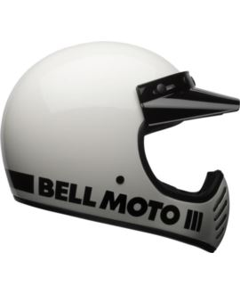 KASK BELL MOTO-3 CLASSIC WHITE